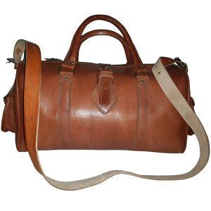 moroccan bag weekend handmade leather